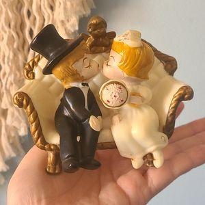 Wilson Inc 1970 Wedding Cake topper